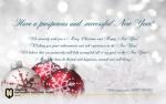 От всей души поздравляем Вас С Новым Годом и Рождеством!